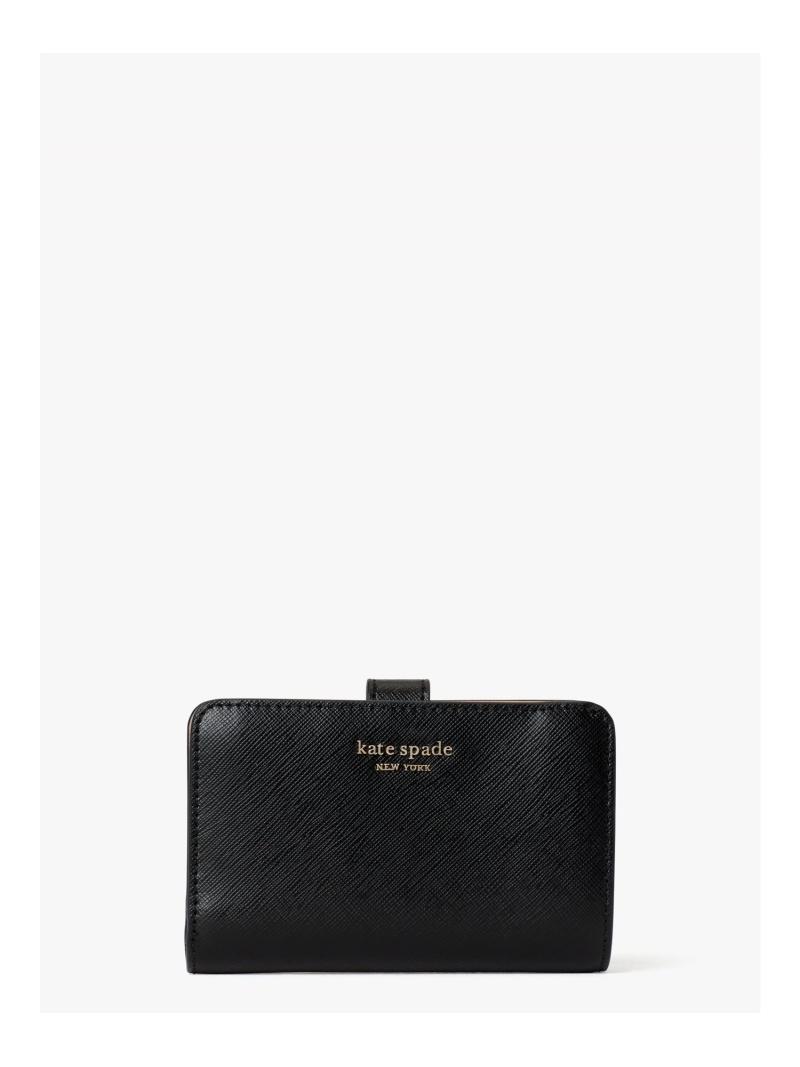 kate ファクトリーアウトレット spade new york レディース 財布 小物 ケイトスペードニューヨーク Rakuten Fashion ショッピング コンパクト ブラック スペンサー ウォレット 送料無料
