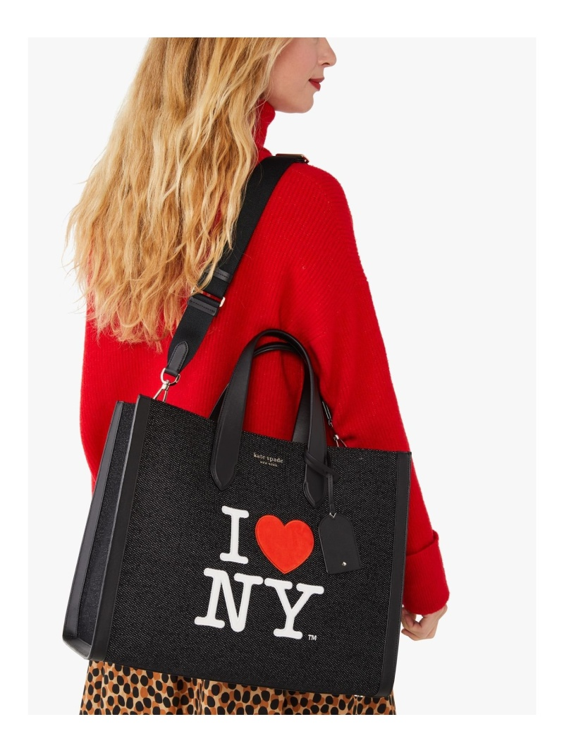 katespade_newyork_0826 kate spade new york_NA_0729 york レディース バッグ ケイトスペードニューヨーク ラージ 送料無料 ブラック トートバッグ Fashion トート 一部予約 Rakuten 驚きの価格が実現 ニュー