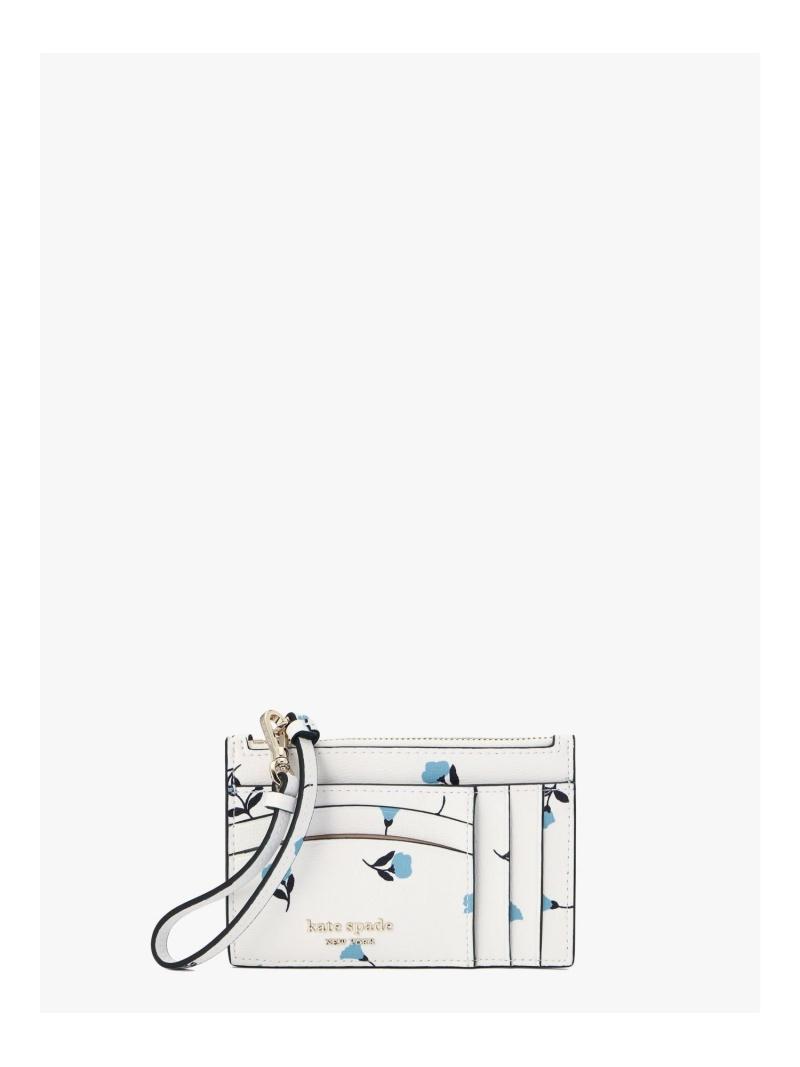 数量限定 kate spade new york レディース 財布 小物 ケイトスペードニューヨーク スペンサー デインティ Rakuten カードケース カード 送料無料 リスレット セール品 ブルーム パスケース ケース Fashion