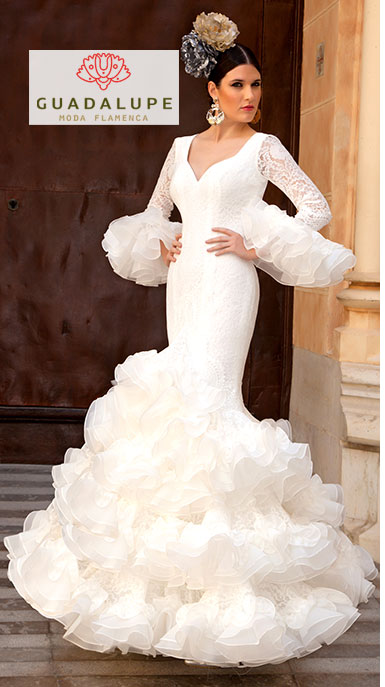 オーダー Precious 2020 AIROSA / アイロサ スパニッシュウェディングドレス Guadalupe社製 フラメンコ衣装 送料無料
