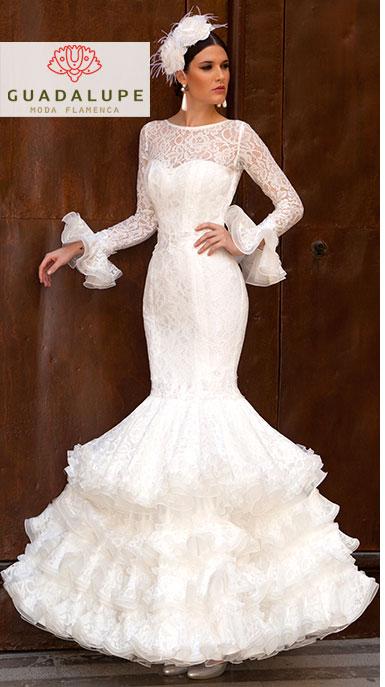 オーダー Precious 2020 FANTASIA / ファンタジア スパニッシュウェディングドレス Guadalupe社製 フラメンコ衣装 送料無料