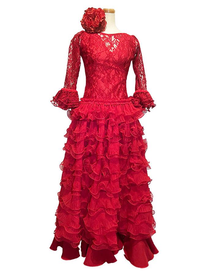 即納品 Precious 2020 ALCAZABA/ アルカサバ (SIZE:40) フラメンコドレス Guadalupe社製 フラメンコ衣装 送料無料