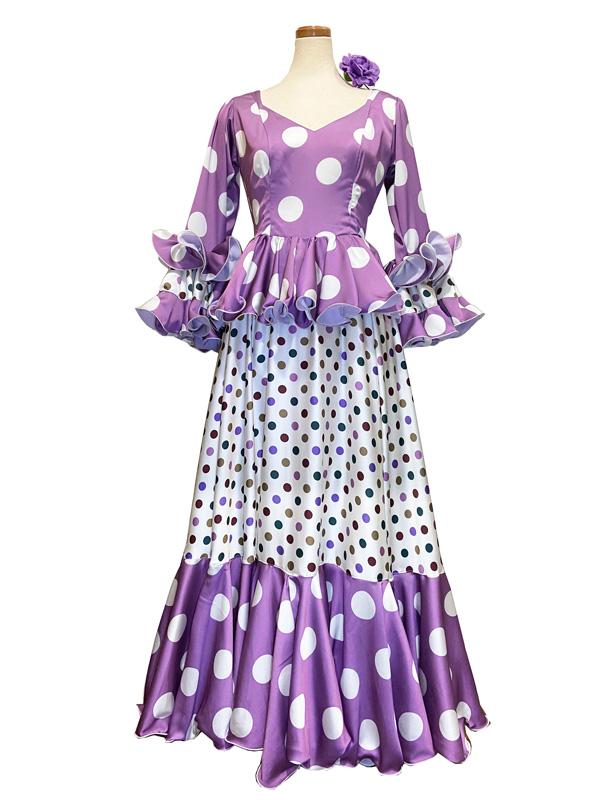 即納品 Precious 2020 DUENDE / ドゥエンデ (SIZE:42) フラメンコドレス Guadalupe社製 フラメンコ衣装 送料無料