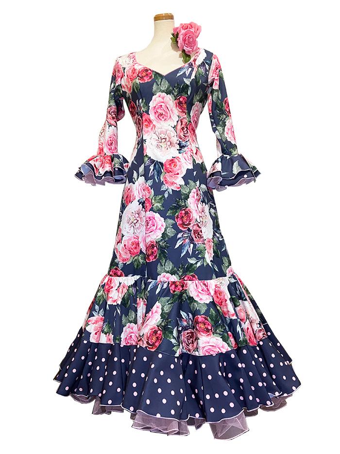 即納品 Precious 2020 GIRALDA / ヒラルダ (SIZE:42)フラメンコドレス Guadalupe社製 フラメンコ衣装 送料無料
