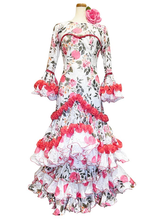 即納品 Precious 2020 PRIMOR / プリモール (SIZE:40) フラメンコドレス Guadalupe社製 フラメンコ衣装 送料無料