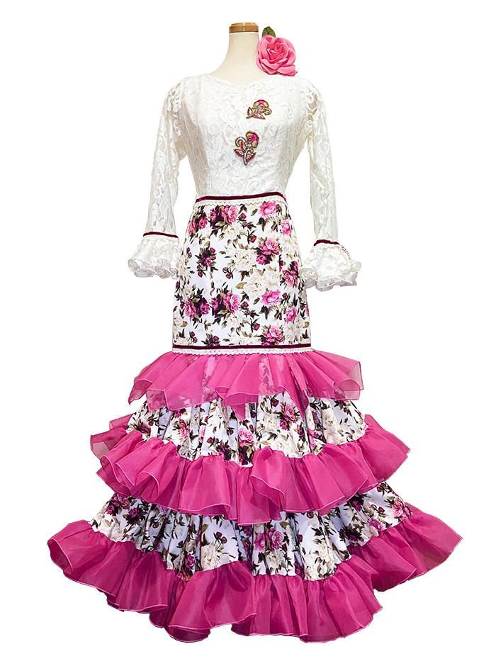 即納品 Precious 2020 AROMA / アロマ (SIZE:42) フラメンコドレス Guadalupe社製 フラメンコ衣装 送料無料