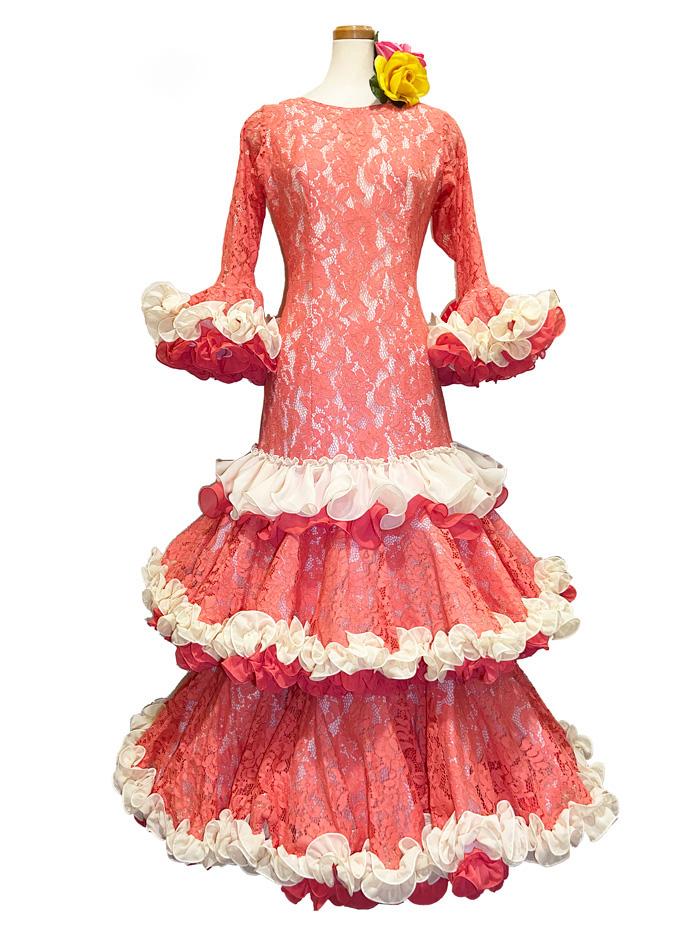 即納品 Precious 2020 JUNCAL / フンカル (SIZE:42)フラメンコドレス Guadalupe社製 フラメンコ衣装 送料無料