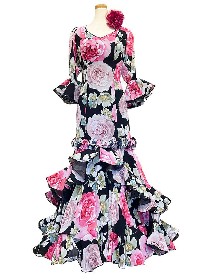 即納品 Precious 2020 MEZQUITA / メスキータ (SIZE:44)フラメンコドレス Guadalupe社製 フラメンコ衣装 送料無料