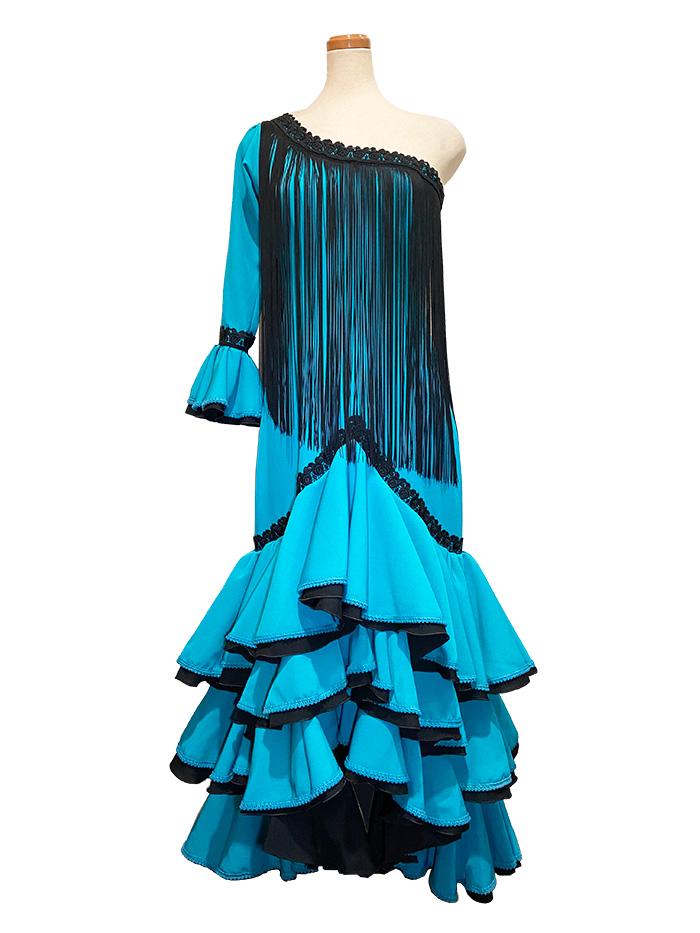 即納品 Precious 2020 SENORIO/ セニョリオ (SIZE:42) フラメンコドレス Guadalupe社製 フラメンコ衣装 送料無料