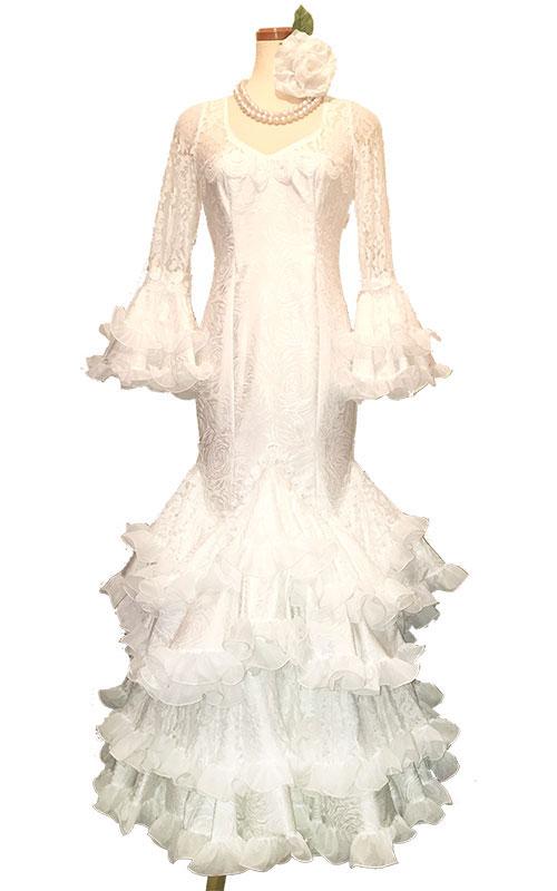 Precious 2017 Poesia / ポエシア (SIZE:40)スパニッシュウェディングドレス Guadalupe社製 フラメンコ衣装 送料無料