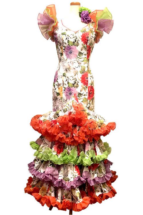 Precious 2018 FLORAL / フローラル (SIZE:40-42)フラメンコドレス Guadalupe社製 フラメンコ衣装 送料無料