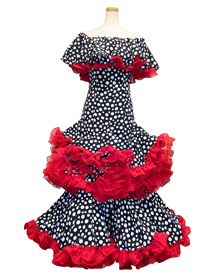 即納品 Precious 2020 SUSPIRO / ススピロ (SIZE:40) フラメンコドレス Guadalupe社製 フラメンコ衣装 送料無料