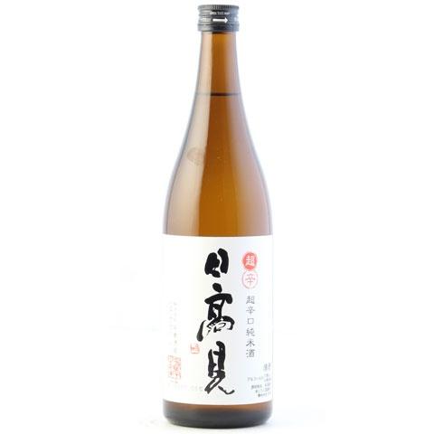 通年商品 新作通販 プレゼント 日本酒 日高見 超辛口純米 720ml ひたかみ