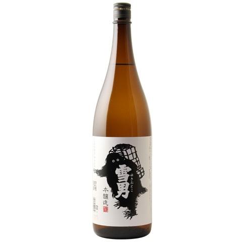 通年商品 日本酒 本店 限定価格セール 雪男 1800ml 本醸造 ゆきおとこ