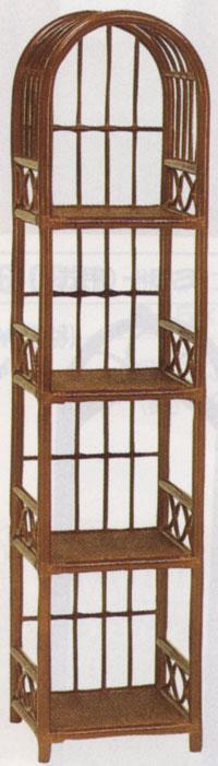 激安通販 セール開催中最短即日発送 お部屋狭いスペースありませんかスリムな籐の飾り棚 籐飾り棚w36d38h160