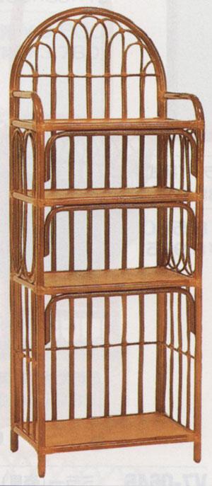 籐飾り棚0663Vw60d38h160
