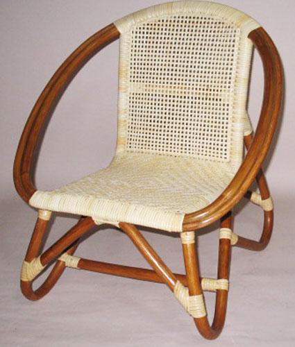 籐子供椅子 子供いす ベビーチェアB-55-1A