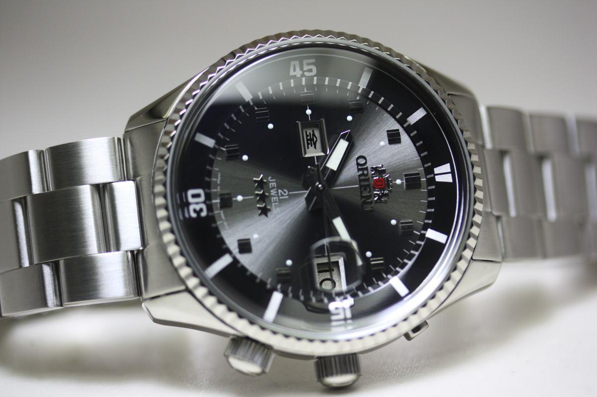 復刻ORIENTオリエントKING MASTERキングマスター自動巻き腕時計