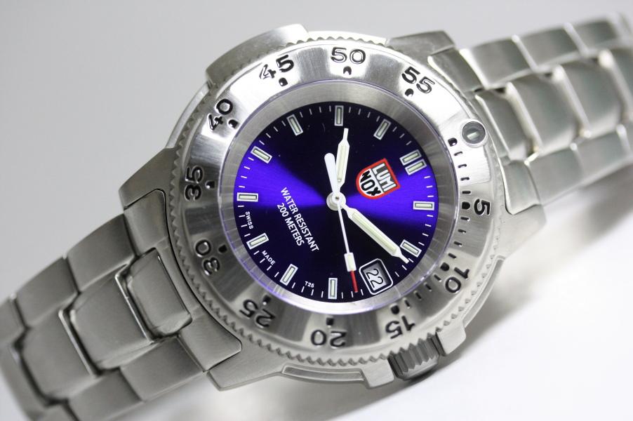 日本限定100本!スイス製LUMINOX【ルミノックス】NAVY SEAL STEEL 3200 SERIES 【ネイビーシールズ】200m防水/腕時計/正規代理店商品