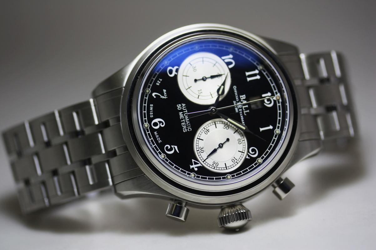 Katsuboya rakuten global market switzerland made by ball watch trainmaster cannonball for Ball watches