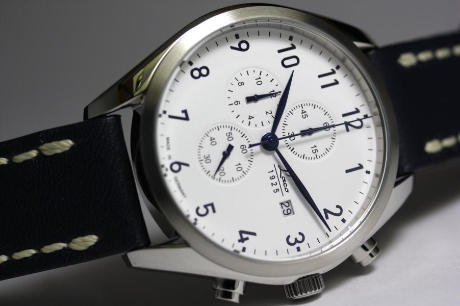 ドイツのLaco【ラコ】Sylt【ズィルト】クォーツ・ミリタリークロノグラフ腕時計