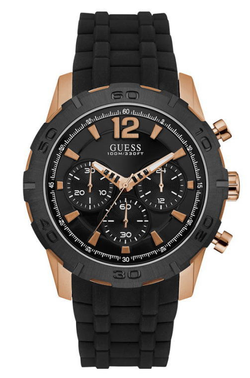 GUESS Watch【ゲス・ウォッチ】CALIBER【キャリバー】クォーツクロノグラフ腕時計/メンズウォッチ/W0864G2並行輸入