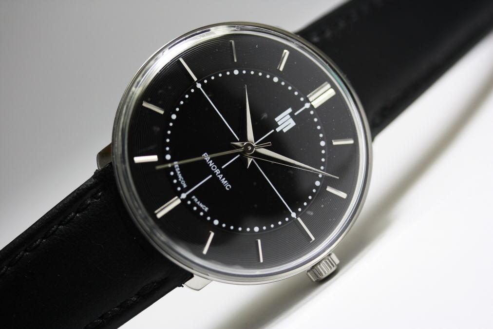外箱なしSALE!フランスのLIP【リップ】panoramic【パノラミック】デザインウォッチ/腕時計
