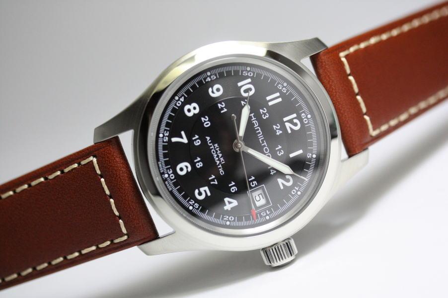 スイス製HAMILTON【ハミルトン】カーキ・フィールド・オート自動巻き腕時計/安心の正規代理店商品