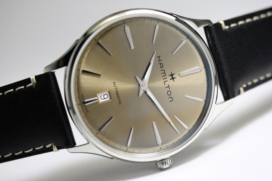 自動巻き!Hamilton【ハミルトン】Jazzmaster Thinline Auto【ジャズマスター・シンライン】自動巻き腕時計/メンズウォッチ/正規代理店商品