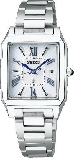 スクエアケースが大人っぽい!SEIKO【セイコー】LUKIA【ルキア】ソーラー電波時計/レディースウォッチ/日本製Made in Japan角型ケース腕時計