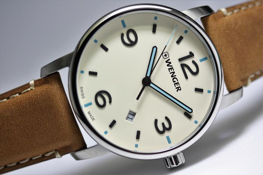 お手頃価格のスイス製WENGER【ウェンガー】Urban Metropolitan【アーバン・メトロポリタン】メンズ・クォーツ腕時計/正規代理店商品