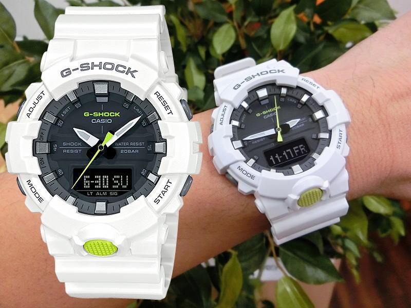 秒針を搭載したアナログモデル!G-SHOCKクォーツ腕時計/20気圧防水/薄型モデル/国内正規流通商品