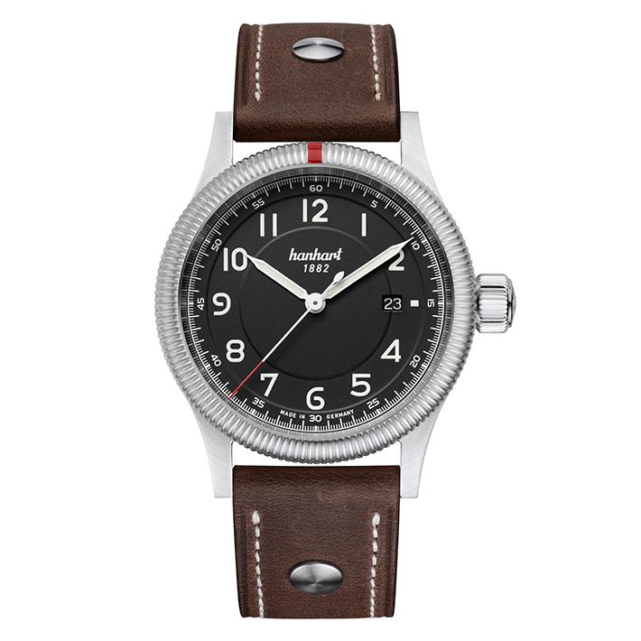 ドイツ製 hanhart【ハンハルト】PIONEER One パイオニア ワン自動巻き腕時計/ミリタリーウォッチ/正規代理店商品