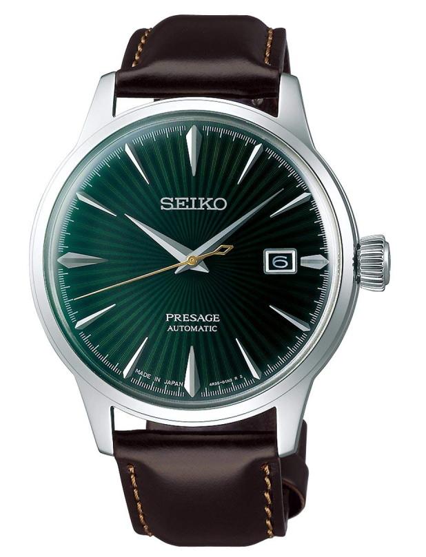 カクテルをイメージした日本製SEIKO【セイコー】Presage【プレサージュ】Mockingbirdセイコー自動巻き腕時計/Made in Japan/送料無料/クリスマス/腕時計