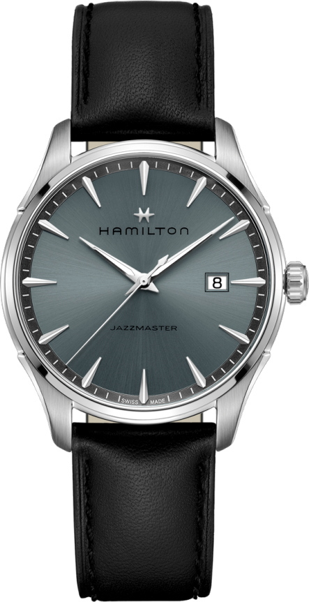 スイス製Hamilton【ハミルトン】JazzMaster Gent【ジャズマスタージェント】クォーツ腕時計/正規代理店商品
