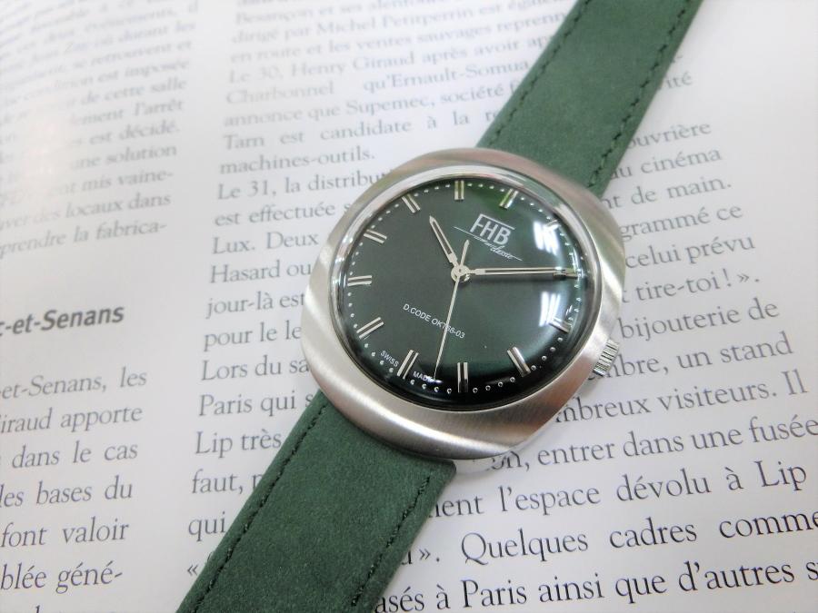 スイス製FHB Classicデザインウォッチ/NOAH【ノア】クラシック・デザイン腕時計/正規代理店商品ボーイズサイズ/送料無料/クリスマス/腕時計