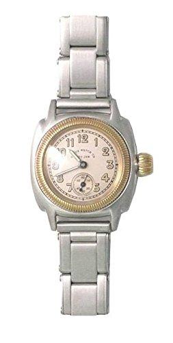 レディースモデル!ヴィンテージ・デザインのVAGUE WATCH Co.【ヴァーグ・ウォッチ・カンパニー】COUSSIN{クッション}クォーツ腕時計/クッション型ケース採用/