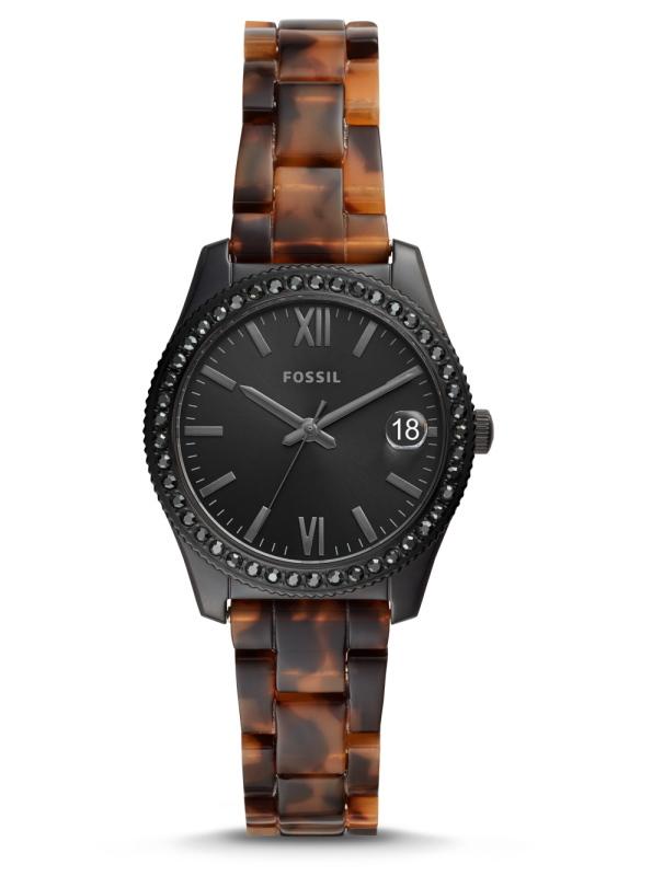 べっ甲調バンド採用!FOSSIL【フォッシル】SCARLETTE MINIレディース・デザインウォッチ/女性用腕時計/正規代理店商品