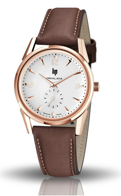 復刻!フランスのLIP【リップ】HIMARAYA【ヒマラヤ】スモールセコンド腕時計アルピニスト