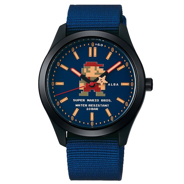 スーパーマリオブラザーズSEIKO【セイコー】ALBA【アルバ】コラボウォッチ/ファミコン/スーパーマリオ/腕時計/送料無料/クリスマス/腕時計