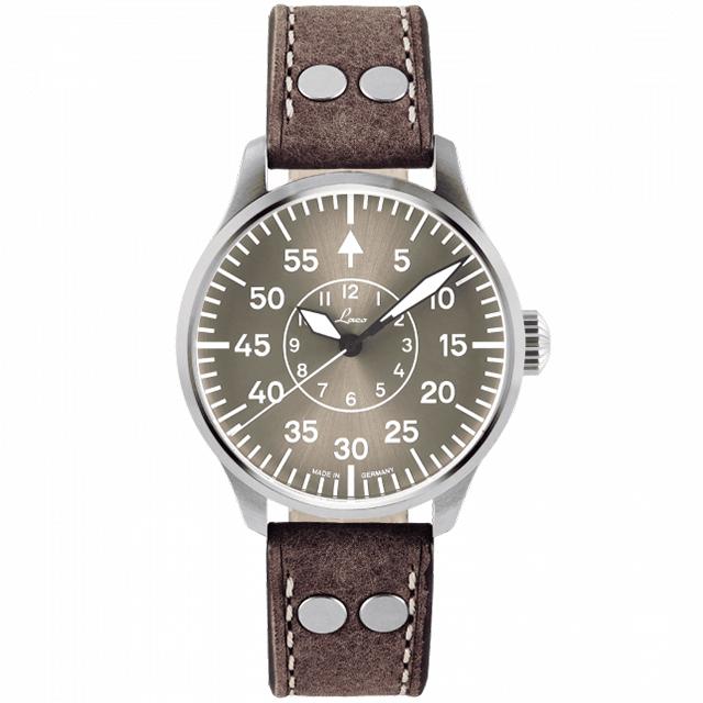 世界限定500本のドイツ製Laco【ラコ】AACHEN42TAUPE【アーヘン42トープ】自動巻きミリタリーウォッチ/腕時計/ドイツ軍復刻モデル