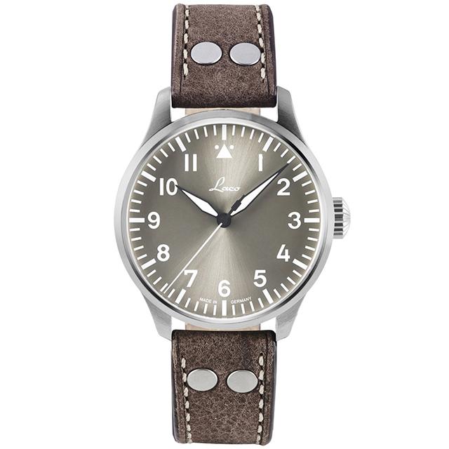 世界限定500本のドイツ製Laco【ラコ】Augsburg42TAUPE【アウクスブルグ42トープ】自動巻きミリタリーウォッチ/腕時計/ドイツ軍復刻モデル
