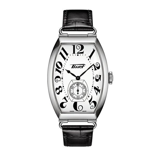 スイス製Tissot【ティソ】HERITAGE Portoヘリテージ・ポルト手巻き腕時計/送料無料/クリスマス/正規代理店商品/レザーストラップメンズ&レディース 兼用シェアウォッチ/トノー型