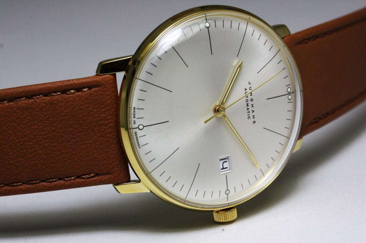 ドイツ製Junghans【ユンハンス】Max Bill【マックス・ビル】自動巻き腕時計/バウハウス・デザインウォッチ
