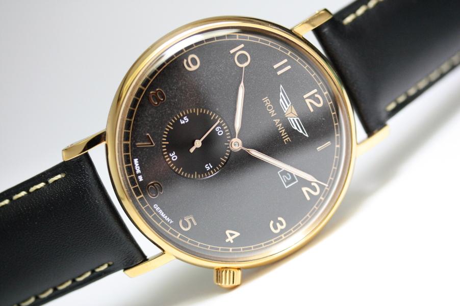 ドイツ製IRON ANNIE【アイアン・アニー】Amazonas Impressionクォーツ腕時計/スモールセコンド/メンズウォッチ/正規代理店商品/Junkersユンカース