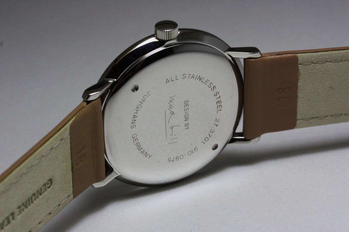 最受欢迎的颜色 !JunghansMax 法案的手表/手表/包豪斯设计