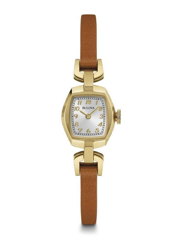 女性用のBULOVA【ブローバ】Vintage/ヴィンテージ コレクション・レディースウォッチ/クォーツ腕時計/正規代理店商品