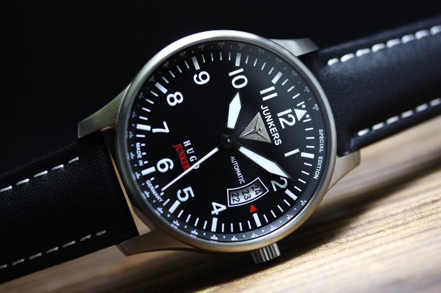創設者の名前をシリーズ名に採用した!ドイツ製Junkers【ユンカース】HUGO JUNKERS【ヒューゴ・ユンカース】自動巻き腕時計/パイロットウォッチ