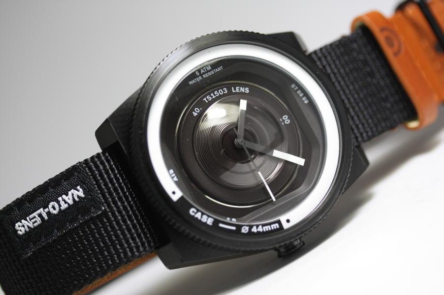 カメラのレンズをイメージしたTACS【タックス】VINTAGE NATO LENSヴィンテージ・レンズのデザインウォッチ!/正規代理店商品