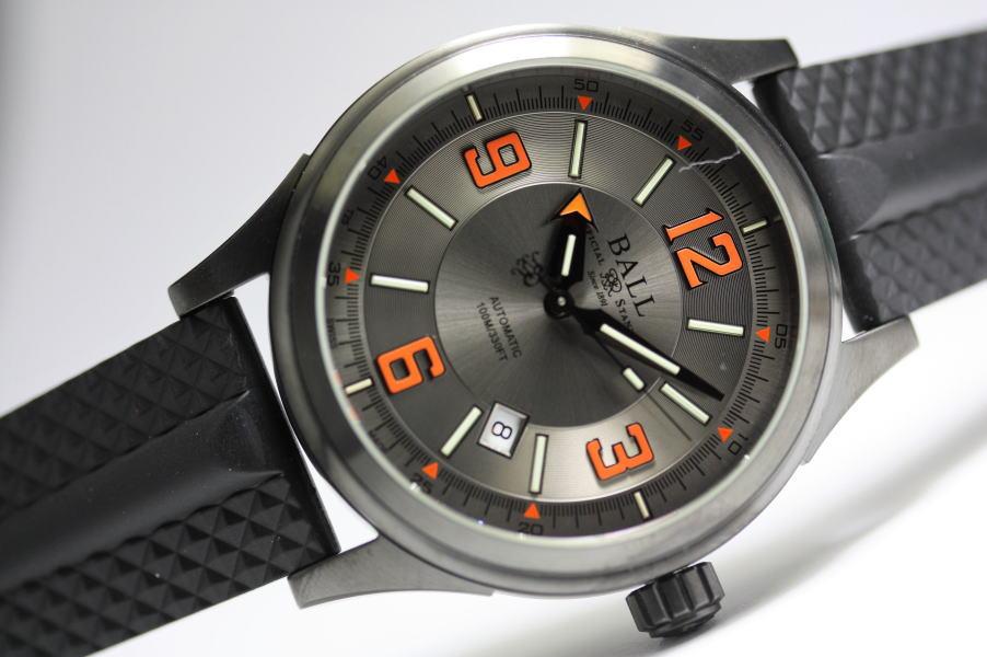 スイス製BALL WATCH【ボール・ウォッチ】RacerDLCストークマン・レーサーDLC自動巻き腕時計NM3098C-P1J-GYOR並行輸入品